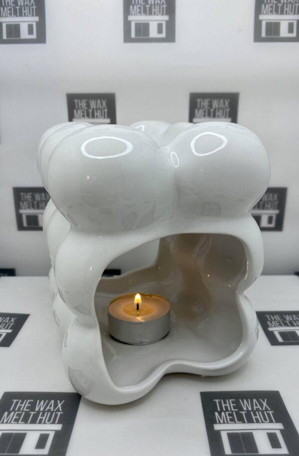 White Peru Wax Burner